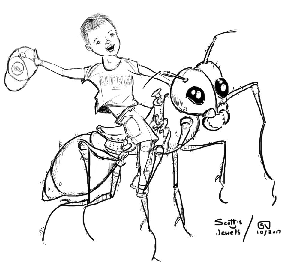 entomology love ants kids parenting comic