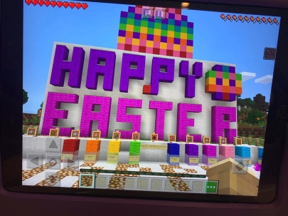 Minecraft Easter Egg Hunt Starting Area