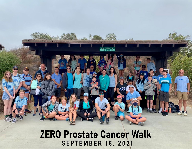 Team Vandervort ZERO Prostate Cancer Walk Blue Sky Ecological Reserve Poway